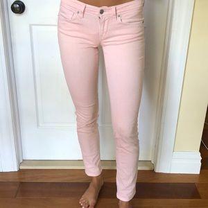 Loft light pink pants